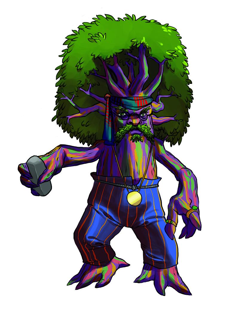 The Villain Treestache